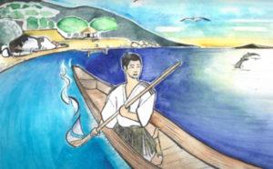 常若の国に行った日本のオーシンー浦島太郎の物語